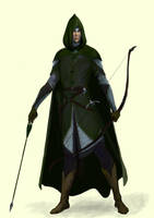 Mirkwood archer by meneldil-elda