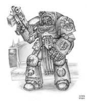 Hero of Ultramar by OEVRLORD
