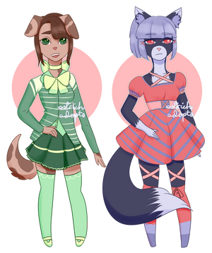 Anthro Adopts [ 2/2 OPEN ] by OstrichAdopts
