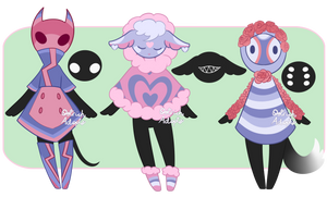 Blue and Pink Mocchin Adopts [ CLOSED ] by OstrichAdopts