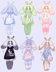 Bunny Adopts [ 3/6 OPEN ] by OstrichAdopts