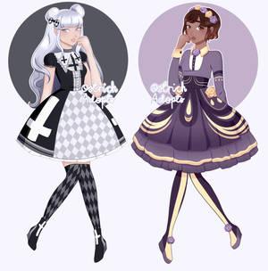 Gothic Lolita Adopts [ 2/2 OPEN ] by OstrichAdopts