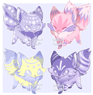 Fox Adopts [ 2/4 OPEN ] by OstrichAdopts