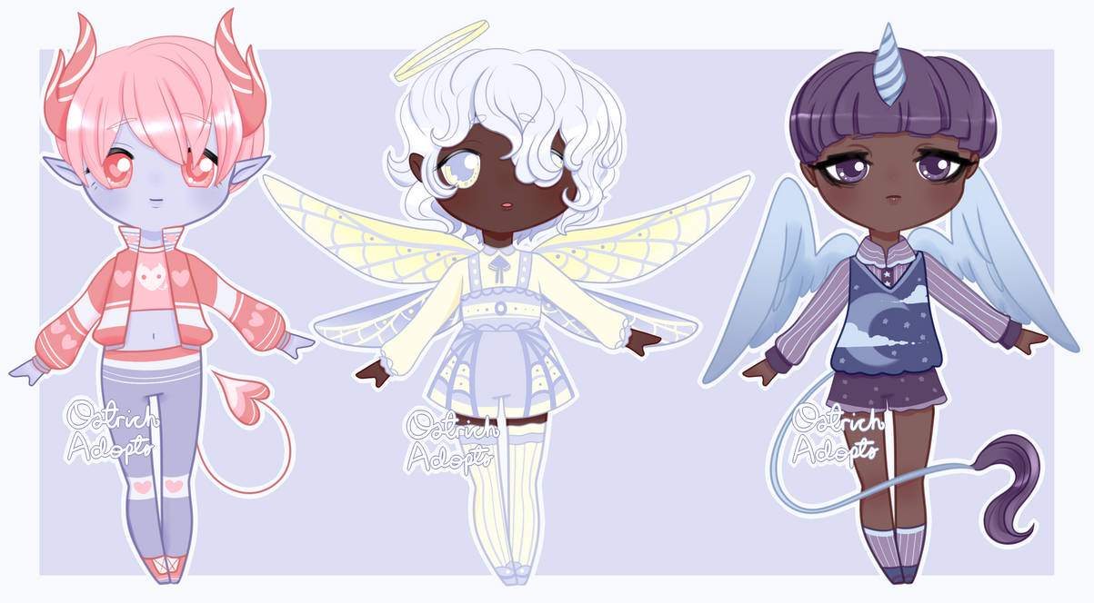 chibi_fantasy_adopts___1_3_open___by_ost