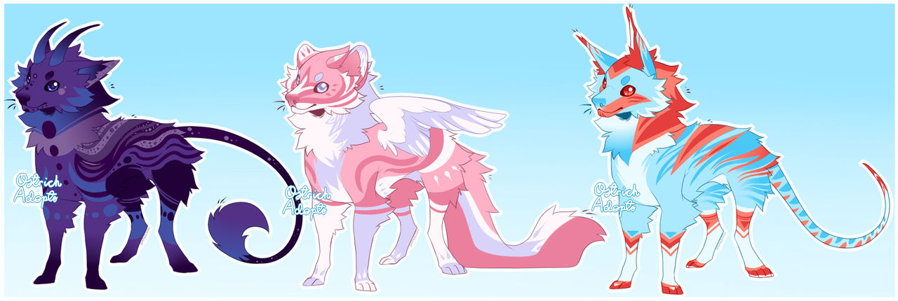 Canine Adopts [ CLOSED ] by OstrichAdopts