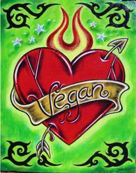 Vegan Heart by JustVegan