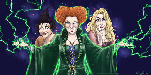 Hocus Pocus by IreneMartini
