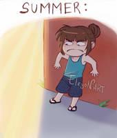 My Summer by IreneMartini