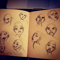 Faces by IreneMartini