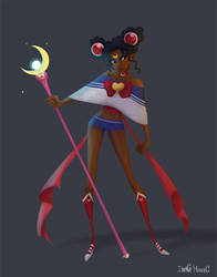 Sailor Moon challenge by IreneMartini
