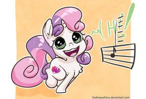 Sweetie Belle by ItsAlwaysPony