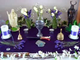 Midsummer Altar 01 by Druidstone
