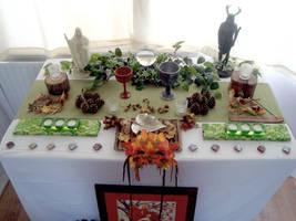 Mabon Altar 2011 by Druidstone