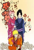 team 7 in kimono by ilaBarattolo
