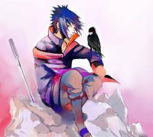 Sasuke -Collab by ilaBarattolo