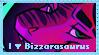 I Love Bizzarasaurus STAMP by Bizzarasaurus
