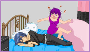 Kat and Ikuto by AnimeDaydream