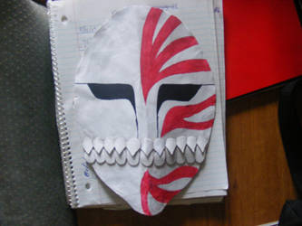 Ichigo's Hollow mask-full by AnimeDaydream