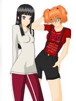 Sunako Nakahara and Asami Mari by AnimeDaydream