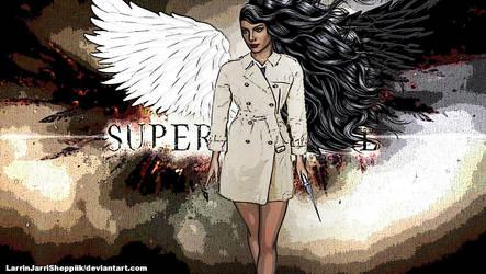 Supernatural... The angel. by LarrinJarriSheppiik