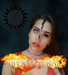 Me as human and demon... Supernatural. by LarrinJarriSheppiik