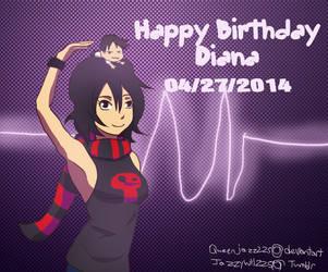 Happy Birthday supermariobrosfan by queenjazz225