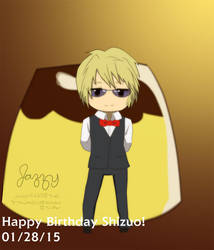 Happy Birthday Shizuo 2015 by queenjazz225