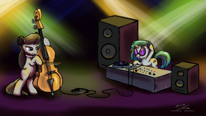 MLP: Friendship is Music by Esuka