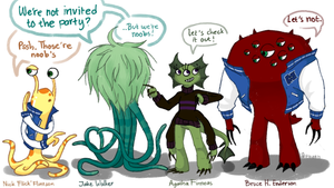 OCs [References]: Another Character for MU by Mossygator