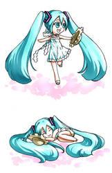 Miku Hatsune 2 by MochiKome