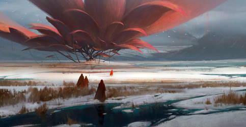 The huge flower by RuxingGao