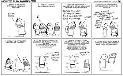 How to play Assassin's Creed by jollyjack