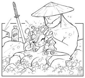 Samurai Shampoo by jollyjack