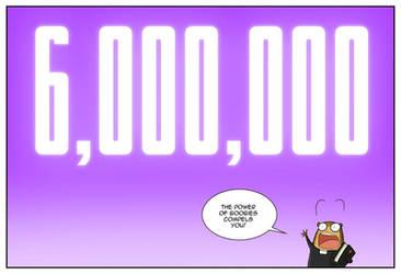 Six Million Pageviews by jollyjack