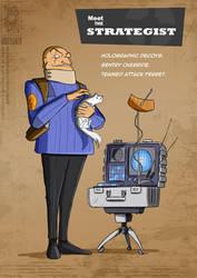 TF2 Strategist by jollyjack