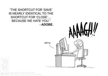 Adobe Hates You by jollyjack