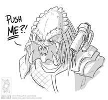 Don't Push A Predator by jollyjack