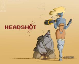Headshot by jollyjack