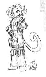Demoncon 10 Fallout Kat by jollyjack