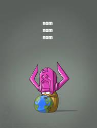 Galactus Hamster by jollyjack