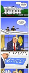 Protecting Trump by jollyjack