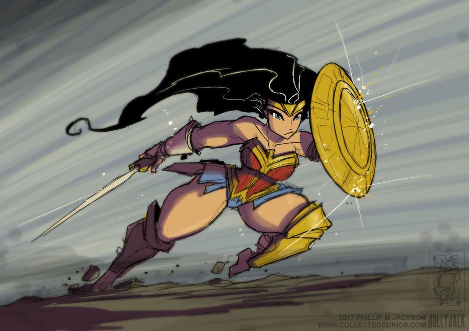 Wonder Woman by jollyjack