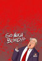 Trump The Haemophobe by jollyjack