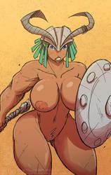 Nudity..... on. by jollyjack
