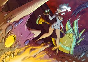 Helga's Coffee Run by jollyjack