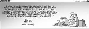RIP Stan Lee by jollyjack