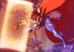 Ninja Scarlet by jollyjack