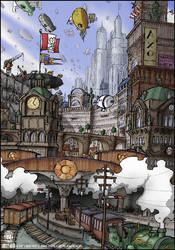 Airship City by jollyjack