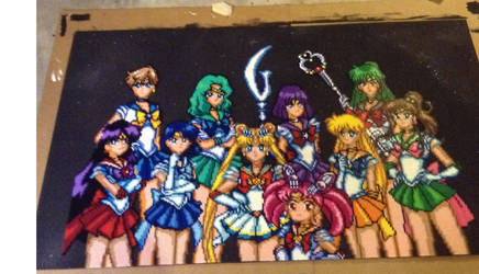 Sailor Soldier Group by thecrowsservant