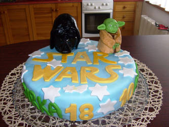 Star Wars Birthday Cake by Alfaraptor